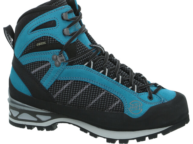 Hanwag Makra Combi GTX Shoes Damen black/ocean